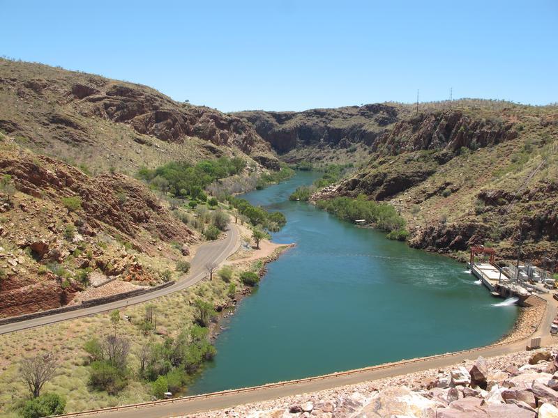 Old River Dam