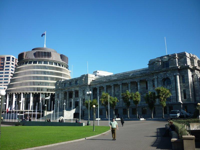 La sede del parlamento